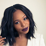 Unprocessed Virgin Human Hair Bob Wig For Black Women 10''-18'' Natual Wave Short Bob Cut Lace Front Wigs Human Hair