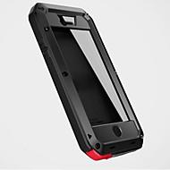 Para iPhone 8 iPhone 8 Plus iPhone 7 iPhone 7 Plus iPhone 6 iPhone 6 Plus Capinha iPhone 5 Case Tampa Água / Dirt / à prova de choque