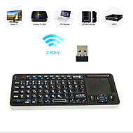 Rii Mini i6 Wireless USB Keyboard + Trackpad + Universal IR Remote Controller