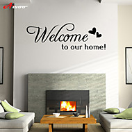 AWOO® Welcome Home  Wall Sticker DIY Home Decorations Quotes Vinyl Wall Decals Wall Mural Art
