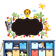 Wall Stickers Wall Decals Style New Small Animal Blackboard Waterproof Removable PVC Wall Stickers