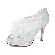 Women's Wedding Shoes Heels / Platform Heels Wedding / Dress Ivory / White