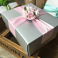 Geschenk Schachteln ( Lavendel / Grün / Rosa / Blau , Kartonpapier ) - Nicht personalisiert - Hochzeit