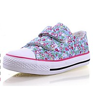 Boy's / Girl's Spring / Fall Closed Toe Canvas Casual Green / Pink / Peach