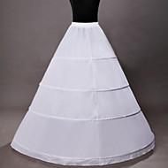 Slips A-Line Slip Tea-Length 1 Nylon White
