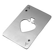 Casino A pik nehrđajućeg čelika otvarač za boce 8,5 * 5,5 * 0,19 cm (3,35 * 2,17 * 0,07 inch0
