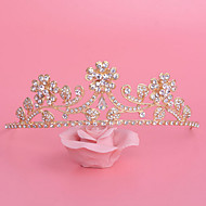 Women's Rhinestone / Alloy Headpiece - Wedding / Special Occasion Tiaras 1 Piece