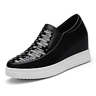 Women's Shoes Glitter Platform Creepers / Comfort Loafers Office & Career / Athletic / Dress / Casual Black / Silver