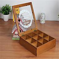 wimper geval ondergoed cosmetica houten bureau multifunctionele opbergbox