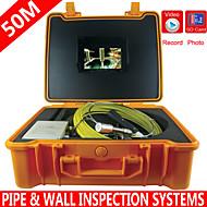 50m slang kabel onder water riool afvoerpijp muur inspectie endoscoop camera pijp&wand controle systeem met dvr