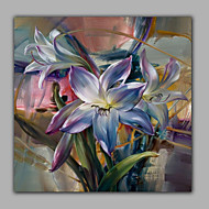 Realistic Lily Flower Oil Painting Handmade Bedroom Wall Art Decoration Free Shipping