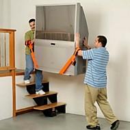 2pçs móveis móveis se deslocam cinto de móveis cordas transportadora