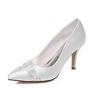 Dámské - Svatební obuv - Podpatky - Lodičky - Svatba / Šaty / Party - Bílá