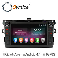 8 Inch 2 Din In-Dash Car DVD Player For Toyota Corolla 2006-2011 with Quad Core Pure Android 4.4.2 GPS Navigation Radio