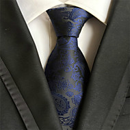 New Navy blue Paisley Classic Formal Men's Tie Necktie Wedding Party Gift TIE2002