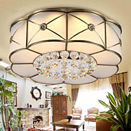 36 Traditional/Classic / Rustic/Lodge LED / Bulb Included Brass Metal Flush Mount Living Room / Bedroom / Dining Room