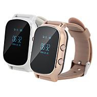 GPS tracker smartur telefonsamtale sos armbånd gsm wifi + lbs armbåndsur intelligent monitor alarm for ungen eldre