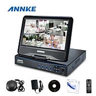 "annke®new 10.1 ""lcd 4 canais ahd 720p HD DVR NVR rede HVR vigilância CCTV vídeo"
