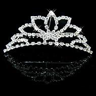 Donne Strass / Cristalli / Lega Copricapo-Matrimonio / Occasioni speciali Tiare 1 pezzo Cerchio