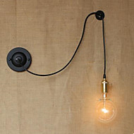 Free Climbing Contracted Wire Free Wall Lamp Control Art