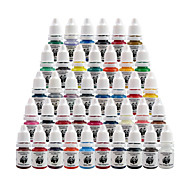 Solong Tattoo High Quality Tattoo Ink Kits Pigment Set 8ml 40 Color for Tattoo Machine Kit