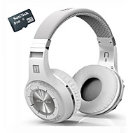 Bluedio H+ Bluetooth Stereo Wireless Headphones Built In Mic Micro-SD/FM Radio BT4.1 Over-ear Headphones+8GTF Card