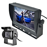 RenEPai® 7 Inch Monitor Wireless 170°HD Bus Car Rear View Camera + Bus High-Definition Wide Angle Waterproof CMD Camera