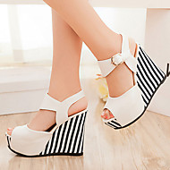 Women's Shoes Heel Wedges / Heels / Peep Toe / Platform Sandals / Heels Outdoor / Dress / CasualBlack / Blue