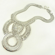 Women's Alloy Necklace Anniversary / Wedding / Party Non Stone