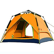 CAMEL 3-4 persons Tent Double Automatic Tent One Room Camping Tent 2000-3000 mm Windproof Ultraviolet Resistant Rain-Proof-Hiking Beach