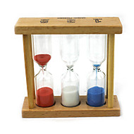 Wooden 1min 3min 5min Time Hourglass