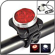 Luzes de Bicicleta LED 240 lumens Lumens 4.0 Modo - Bateria de Lítium Recarregável Impermeável Visão Nocturna Ciclismo