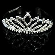 Copricapo Donne Tiare Matrimonio / Occasioni speciali Strass / Cristalli / Lega Matrimonio / Occasioni speciali 1 pezzo