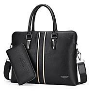 Men PU Doctor Shoulder Bag / Tote / Satchel / Clutch - Brown / Black / Khaki
