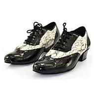 Sapatos de Dança (Preto) - Masculino - Personalizável - Latina / Jazz / Tênis de Dança / Sapateado / Moderna