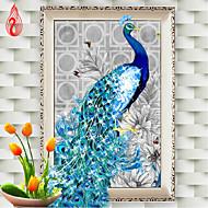 DIY 5D Diamonds Embroidery Diamond Mosaic New Peacock Soul Love Round Diamond Painting Cross Stitch Kits Home Decoration
