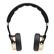 Xiaomi fast pannband hörlurar w / mikrofon, 3,5 mm - svart + guld