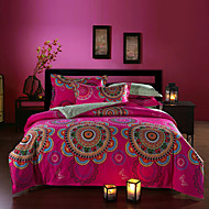 boho bstyle beddengoed set queen size puur katoen