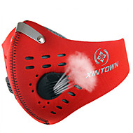 Pollution Protection Mask Bike Breathable / Windproof / Dust Proof / Limits Bacteria Unisex Red / Gray / Black / Blue / OrangeNylon /
