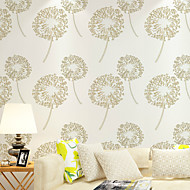 al-mullk Floral Wallpaper Country Wall Covering , Non-woven Paper Pastoral Romantic Aestheticism
