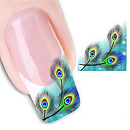 -Finger / Zehe / Andere-3D Nails Nagelaufkleber / Andere Dekorationen-Andere-2Stück -6.5*5.3cm