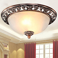 15*30CM  Europe Type Resin Glass Dome Light Sweet Bedroom Study Led To Absorb Dome Light LED Lamp