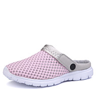 Women's Spring Summer Fall Comfort Tulle Casual Athletic Flat Heel Blue Pink