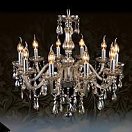 Ecolight™ 110V OR 220V 10Lights Luxury Crystal Chandelier/Cognac Color/K9 Crystal Chandeliers Living Room / Bedroom