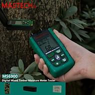Mastech ms6900- kannettava monikäyttöinen puun kosteuden testaaja + ympäristön lämpötila ja kosteus testi