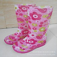 boy and girl Classic Flat Heel Rain Boot Puddle Rain Boot with Cotton Tie and Lining (Toddler/Little Kid/Big Kid)