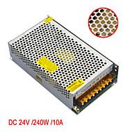 JIAWEN AC110V/ 220V to DC 24V 10A 240W Transformer Switching Power Supply