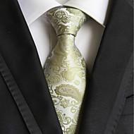 Vzor / Nepravidelný styl - Kravata (Zelená , Polyester)
