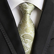 Gravata ( Verde , Poliéster ) Estampado / Irregular