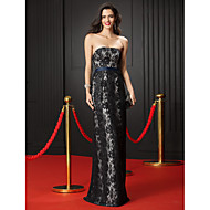 TS Couture® Prom  Formal Evening Dress Sheath / Column Strapless Floor-length Lace with Lace
